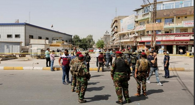Blasts Kill At Least 17 In Baghdad