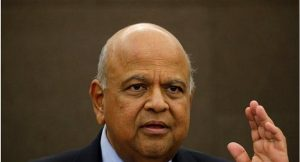 south african finance minister