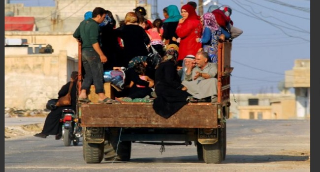 Fighting in Syria's Hama Province Displaces 100,000- U.N.