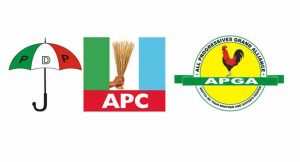 Anambra, political parties, Governorship elections