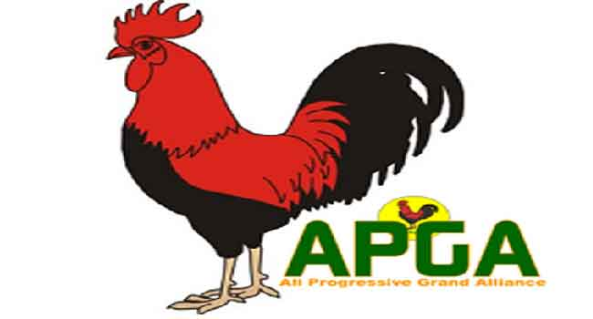 LG Polls: Abia APGA Members Protest Substitution Of Candidate