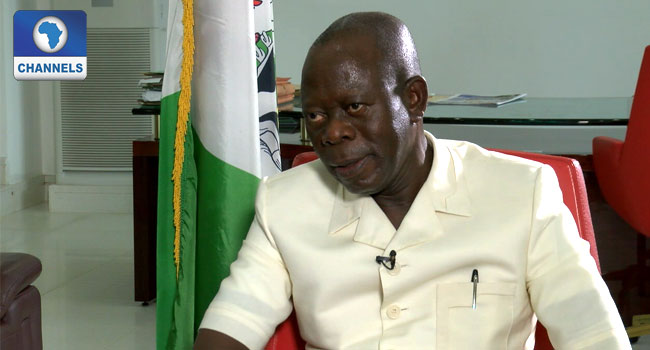 Oshiomhole Warns Against Selling Nigeria's Assets For Quick Fix Of Economy