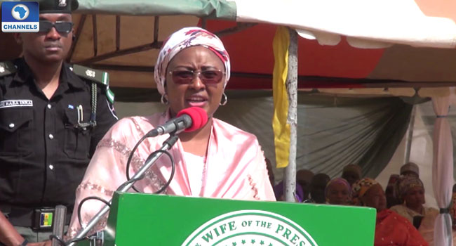 Aisha Buhari Lauds Military's Effort To End Boko Haram