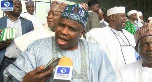 Building Collapse: Governors' Forum Visits Governor Emmanuel