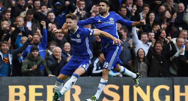 Chelsea Beat Manchester United 4-0