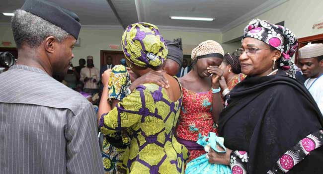 Nigerian Government Promises To Rehabilitate Released Chibok Girls