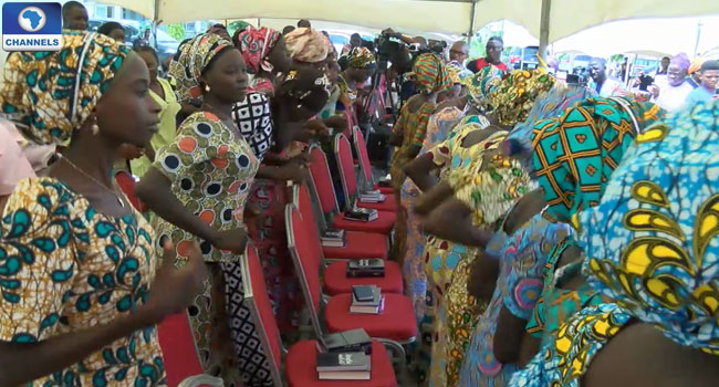 chibok-girls-released