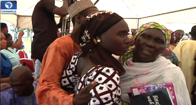 chibok girls rescued