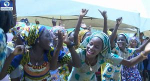 21 Chibok School Girls Return Home For Christmas