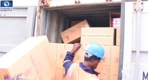 Nigeria Customs Seize Container Of Ready To Eat Food