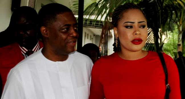 Money Laundering Allegation: Fani-Kayode's Wife Says EFCC Lied