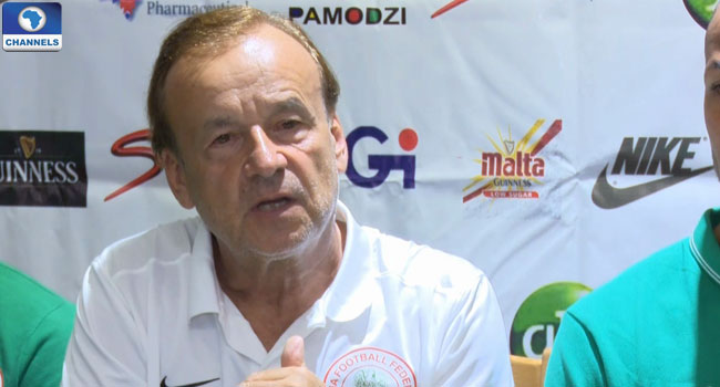 Rohr Explains Super Eagles Chances Of Beating Zambia