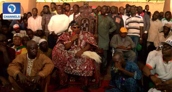Jegede Supporters Take Protest To Akure Monarch's Palace