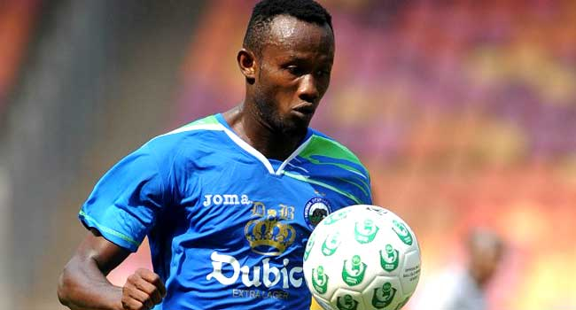 Udoh Celebrates CAF Champions League Top Scorer Feat