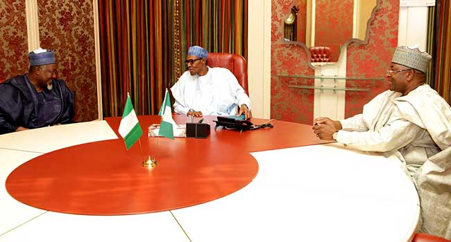 Bauchi, Jigawa Governors Discuss Security With Buhari