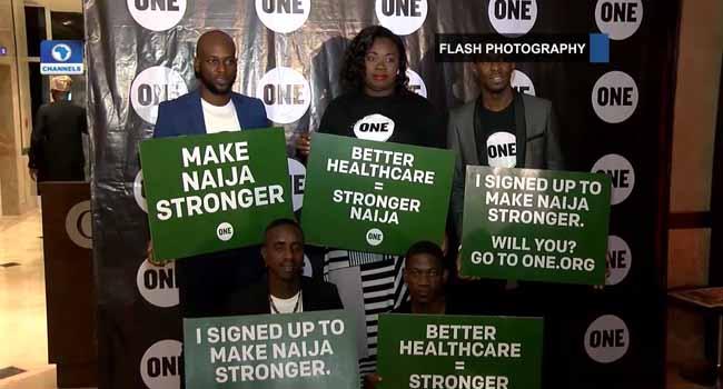 Desmond Elliot, Waje Join 'Make Nigeria Stronger' Campaign