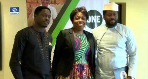 "Desmond elliot, WAJE, ""Make Nigeria Stronger"" campaign"