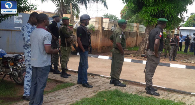 Police Beef Up Security Ahead Of Abia LG Elections