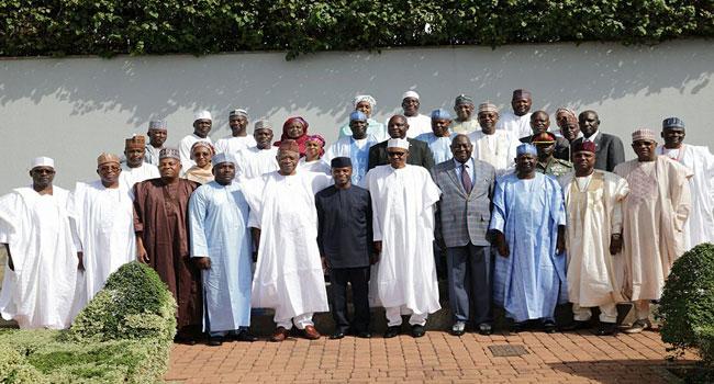 Buhari Inaugurates Committee On North East Initiative