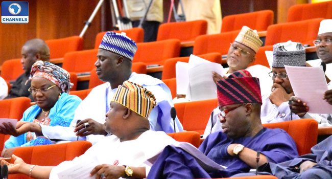 PDP Senators Stage Walk-Out Over Omogunwa's Defection