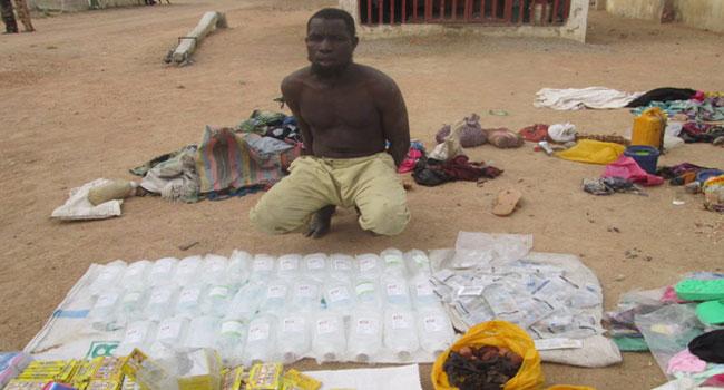 Troops Intercept Suspected Boko Haram Drugs, Logistics Suppliers In Borno