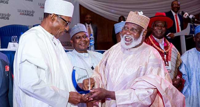 Buhari Bags Leadership Award, Restates Commitment To Democracy