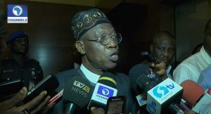 Lai Mohammed on Change Begins With Me