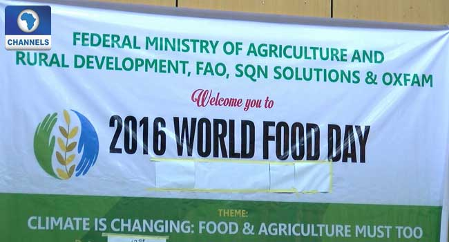 food security, climate change, World Food Day