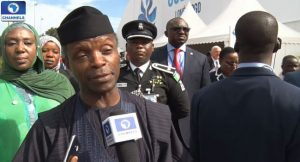 yemi osinbajo on anti-corruption fight in Nigeria