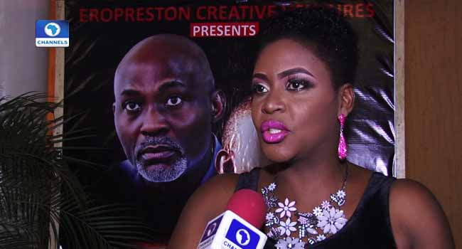 Funmi Holder Screens Debut Movie 'The Grudge'