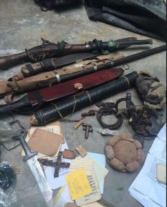 Items Recovered