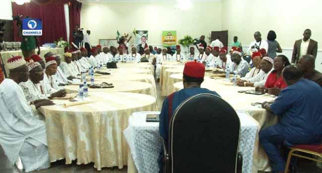 Obiano Inaugurates Elders' Council In Anambra