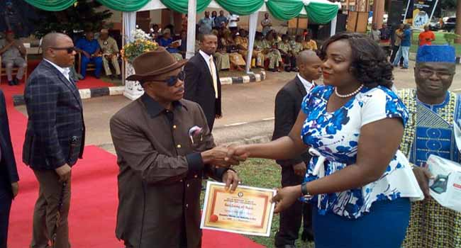 Obiano Recognises Exemplary Service Of Civil Servants In Anambra