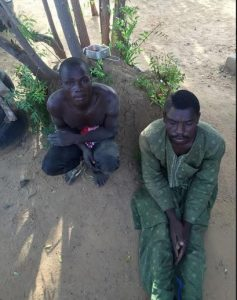 Arrested persons