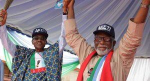 Buhari Says Akeredolu's Ondo Election Victory Was 'A Huge Win'