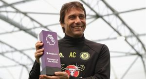 Conte, Hazard Win Manager, Player Of The Month Award