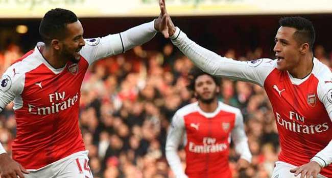 Arsenal Beat Middlesbrough 2-1 In Premier League Clash