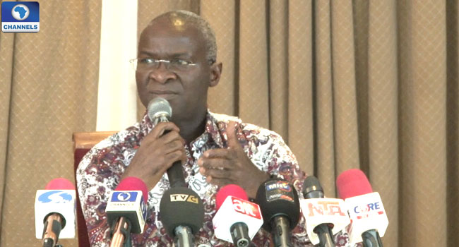 Fashola Gives First Year In Office Report