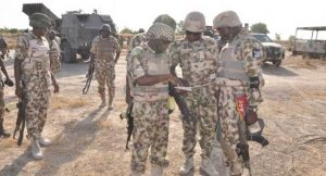 military on dislodged insurgents in northeast Nigeria