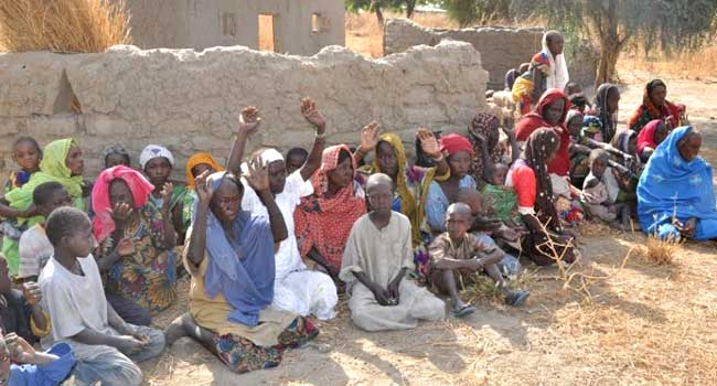 Troops Rescue 85 Boko Haram Captives In Chukungudu