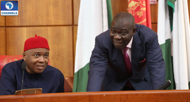 May Day: Saraki, Ekweremadu Hail Nigerian Workers' Sacrifice To Nation Building