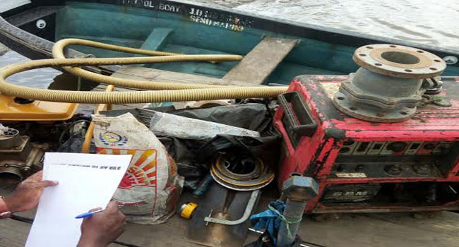 Troops Seize Illegal Bunkering Equipment In Delta Safe Operations