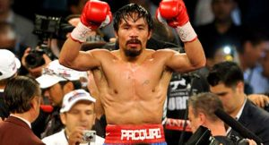Manny Pacquiao, WBO Welterweight Title