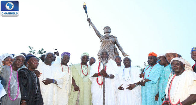 Unveiled Moremi Statue Dedicated To Economic Liberation Of African Youths