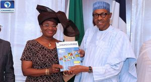 muhammadu buhari and florentina adenike ukonga on Gulf of Guinea and maritime security
