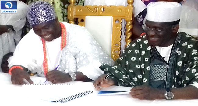 BOI, House Of Oduduwa Sign 1bln Naira Loan Agreement To Aid SMEs