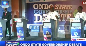ondo-governorship-debate