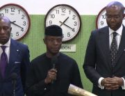 Osinbajo Visits NSE, Wants More Companies Listed