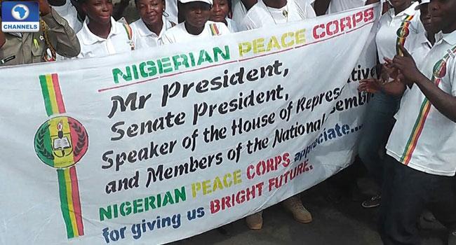 President Muhammadu Buhari is yet to receive Nigeria Peace Corps bill