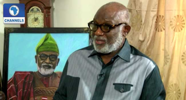 I Won't Probe Past Government In Ondo, Akeredolu Says